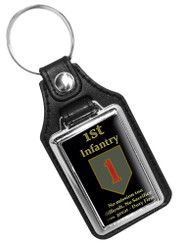 1ST Infantry No Mission Too Difficult No Sacrifice Too Great Key Ring