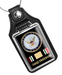 United States Navy Iraqi Freedom Key Ring