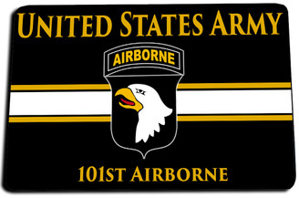 101st Airborne Division (Air Assault) Door Mat Rug