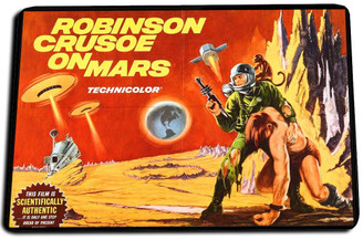 Robinson Cursoe on Mars Movie Door Mat Rug