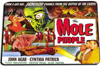 The Mole People Movie Poster Door Mat Rug