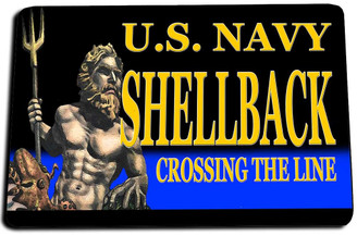 US Nuavy Shellback Door Mat Rug