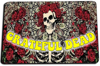 Greatful Dead Door Mat Rug