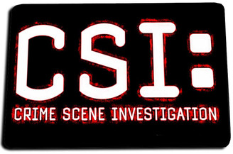 CSI: Crime Scene Investigation Door Mat Rug