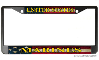 United States Marines License Plate Frame