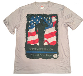September 11th May We Never Forget Police T-Shirt