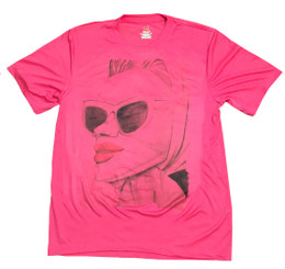 Retro 1950's Woman With Sunglasses Rapid Dry T-Shirt