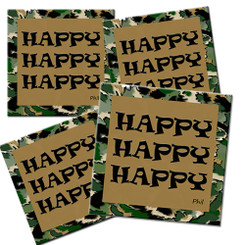 Happy Happy Happy Duck Dynasty Coaster