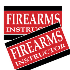 Firearms Instructor Decal