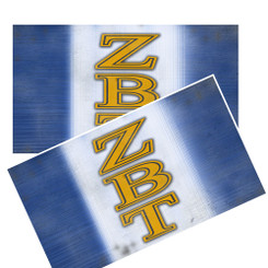 ZETA BETA TAU DISTRESSED DECALS