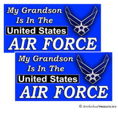 My grandson is in the United States Air Force Decal
