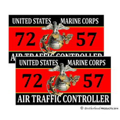 United States Marine Corps Air Traffic Controller 7257 Decals Pack of 4