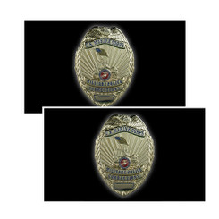 US Marine Corps Military Police Shield Decal Package of 4