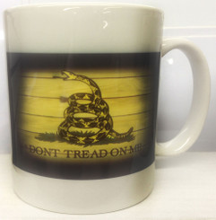 Don't Tread on Me Gadsden Coffee Mug