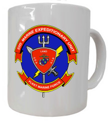 22D Marine Expeditionary Unit Fleet Marine Force Coffee Mug