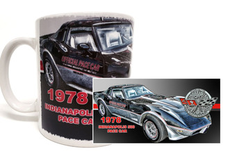 1978 Indianapolis Pace Car Corvette Coffee mug