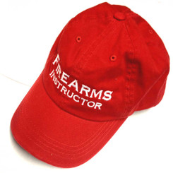 Firearms Instructor Cap