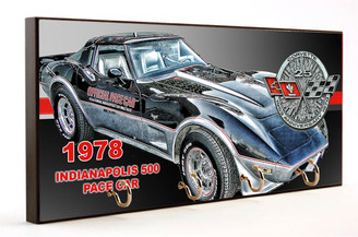 1978 Indy 500 Pace Car - Corvette Key Hanger