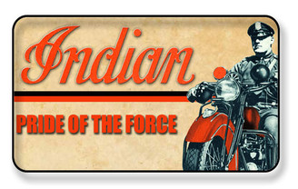Indian Pride of The Force Police Magnet - PACKAGE OF 4