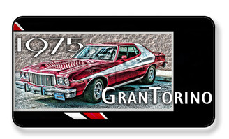 1975 Gran Torino Starsky & Hutch Style Magnet - PACKAGE OF 4