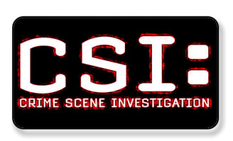 CSI Criminal Scene Investigaor Magnet - PACKAGE OF 4