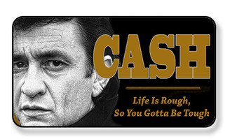 Johnny Cash Life I Rough So You Gotta Be Tough Magnet - PACKAGE OF 4