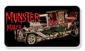 Munsters Koach Magnet - PACKAGE OF 4