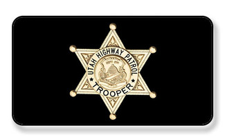Utah State Trooper Highway Patrol Magnet - PACKAGE OF 4