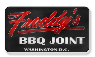 Freddy's Barbeque Joint Washington D.C. Magnet - PACKAGE OF 4