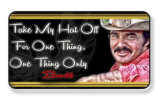 Smoky And The Bandit Burt Reynolds Magnet - PACKAGE OF 4
