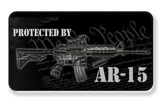 Protected By AR-15 We The People Magnet - PACK OF 4