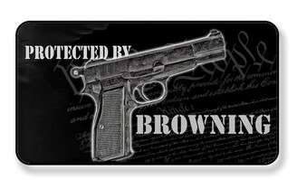 Protected By A Browning We The Peole Magnet - PACK OF 4