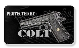 Protected By A Colt We The People Magnet - PACKAGE OF 4