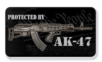 Protected By AK-47 We The People Manget - PACKAGE OF 4