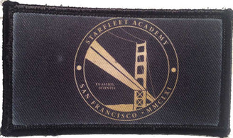 Starflee Academy San Francisco MMCLXI Velcro Patch - PACKAGE OF 4