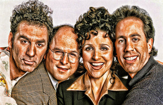 Vintage Seinfeld Poster
