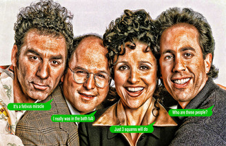 Seinfeld Thought Poster