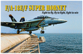 F/A-18E/F Super Hornet Fight To Fly Poster