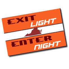 Exit Light Enter Night Virginia Tech Poster