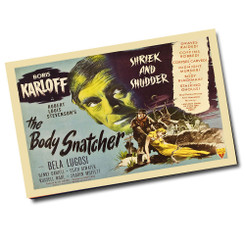 Vintage Boris Karloff The Body Snatcher Movie Poster