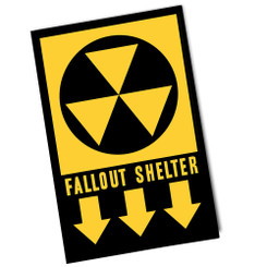 Directions to Fallout Shelter Poster