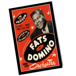 Vintage Fats Domino Poster