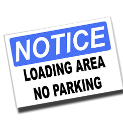 Notice Employee Entrance Only 8x12 Metal Sign