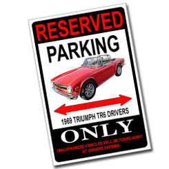 Reserved Parking F-16 Fighting Falcon Only 8x12 Metal Poster