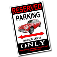 Reserved Parking F-35 Lightning II Only 8x12 Metal Poster