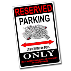 Reserved Parking 2012 Indian Chief Vintage Only 8x12 Metal Poster