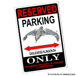 Reserved Parking Cessna 172S Skyhawk Only 8x12 Metal Poster