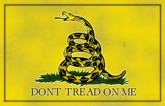 Don't Tread On Me Aluminum Sign