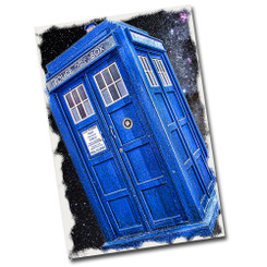"Doctor Who Police Public Call Box 12"" x 8"" Metal Sign"