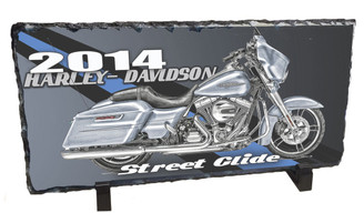 2014 Harley Davidson Street Glide Slate Photo Rock